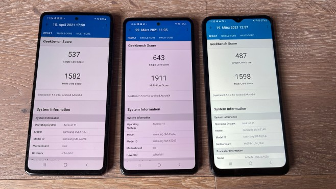 Samsung Galaxy A32 5G©COMPUTER BILD