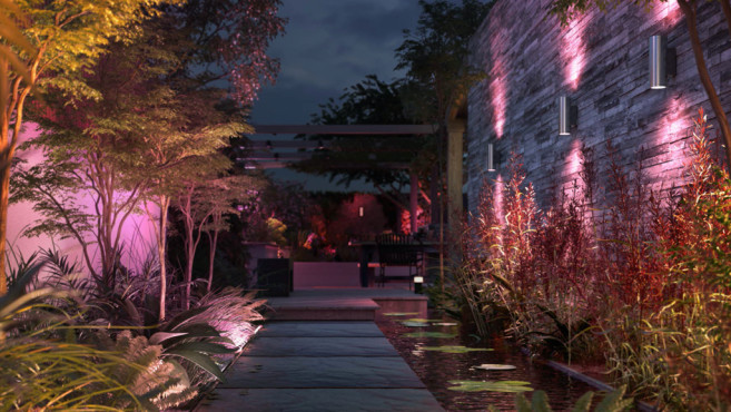 Philips Hue Amarant und Philips Hue Appear Edelstahl©Philips Hue, Signify