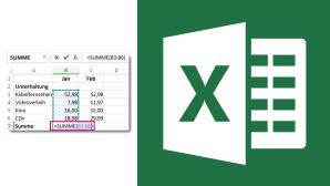 Excel: Formel übertragen©Microsoft COMPUTER BILD