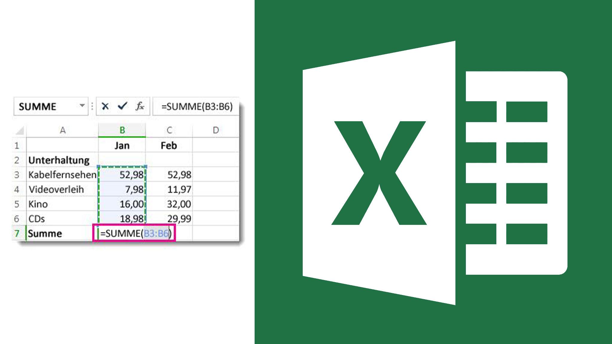 Excel besser kennenlernen