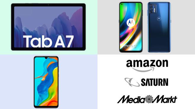 Amazon, Media Markt, Saturn: Top-Deals des Tages!©Amazon, Saturn, Media Markt, Motorola, Samsung, Huawei