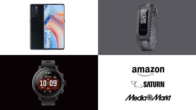 Amazon, Media Markt, Saturn: Top-Deals des Tages!©Amazon, Saturn, Media Markt, Huawei, Oppo, Amazfit