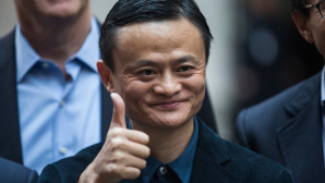 Alibaba-Gr�nder Jack Ma © Andrew Burton / Getty Images