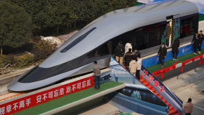China Super Bullet Maglev Train © STR / Getty Images