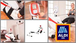 Rudergerät bei Aldi im Angebot: Modell von SportPlus zum Discounterpreis©Aldi Süd, SportPlus
