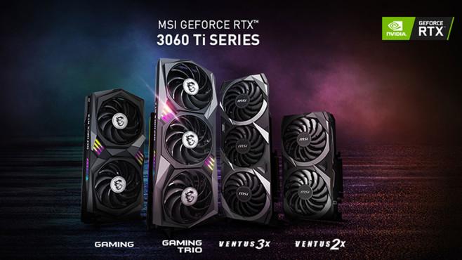 MSI RTX 3060 Ti©MSI