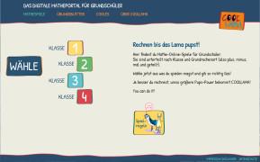 Coollama: Mathe-Portal für Grundschüler