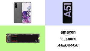 Amazon, Media Markt, Saturn: Top-Deals des Tages! © Amazon, Saturn, Media Markt, Samsung, SanDisk