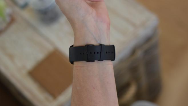 Armband der Amazfit GTR 2©COMPUTER BILD