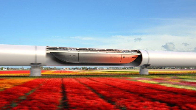 Hyperloop Holland © Hardt Hyperloop