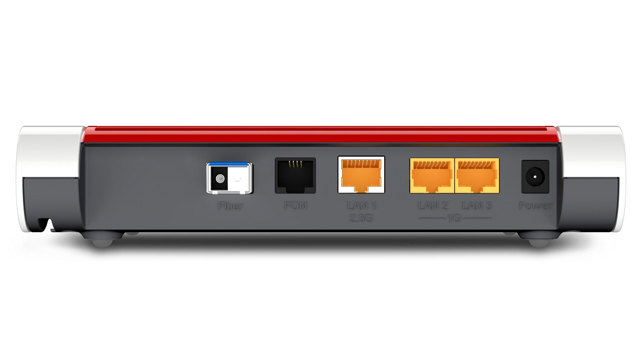 AVM FritzBox 20 Fiber Test des Glasfaser Routers mit Wi Fi 20 ...