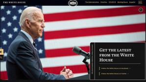 Website des Weißen Hauses©Weißes Haus