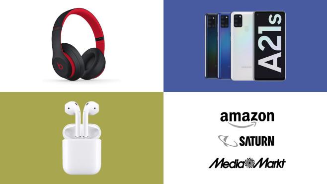 Amazon, Media Markt, Saturn: Top-Deals des Tages!©Amazon, Saturn, Media Markt, Samsung, Apple, Beats