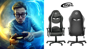 ein One Gaming Chair Snow von One.de. © One.de
