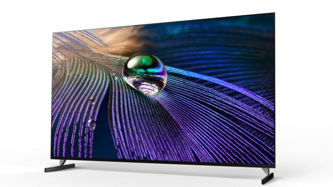 Der Sony A90J verfügt über einen hellen OLED-Bildschirm der neuen Generation©Sony