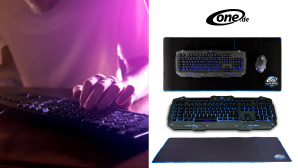 One Gaming Lightning Detonator V3 Tastatur + Grid XL Mauspad Bundle © One.de, iStock.com