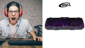 One Gaming Lightning Detonator V3 Tastatur©One.de, AlexShutter - Fotolia.com