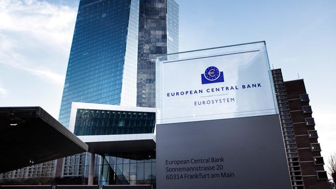 Außenansicht der Europäischen Zentralbank©iStock.com/ollo