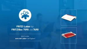 Fritz Labor für FritzBox 7590 und 7490©AVM