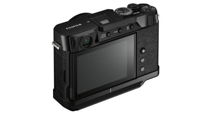 Fujifilm X-E4 Daumenstütze und Handgriff©Fujifilm