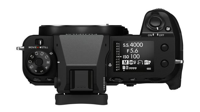 Fujifilm GFX100S mehr Display, weniger Einstellräder©Fujifilm