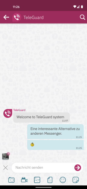 TeleGuard (Android-App)