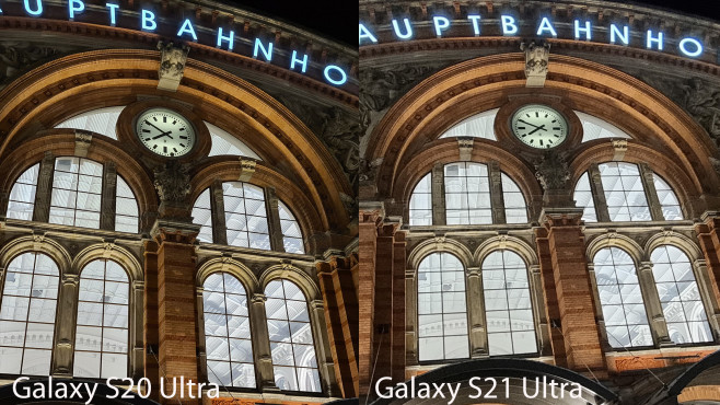S20 Ultra vs. S21 Ultra: Foto bei Nacht©COMPUTER BILD