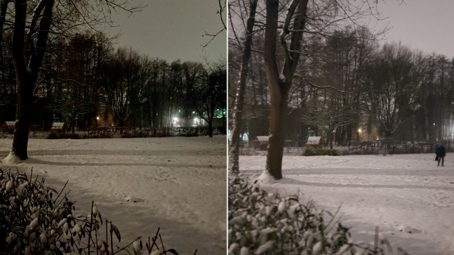 Nachtmodus Vergleich©COMPUTER BILD / Janina Carlsen