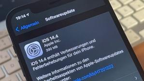 iOS 14.4 Update©COMPUTER BILD