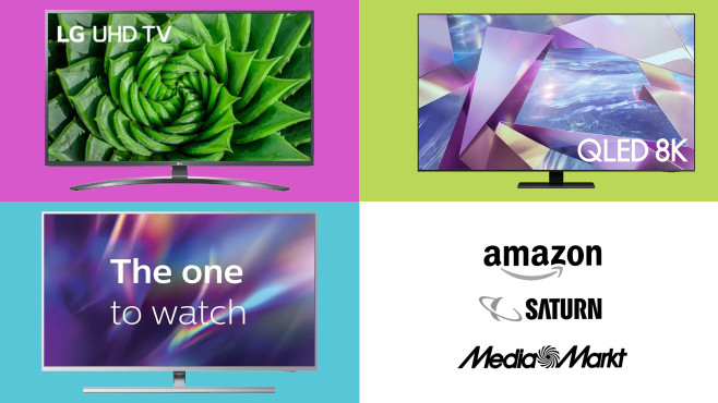 Amazon, Media Markt, Saturn: Top-Deals des Tages!©Amazon, Saturn, Media Markt, LG, Samsung, Philips