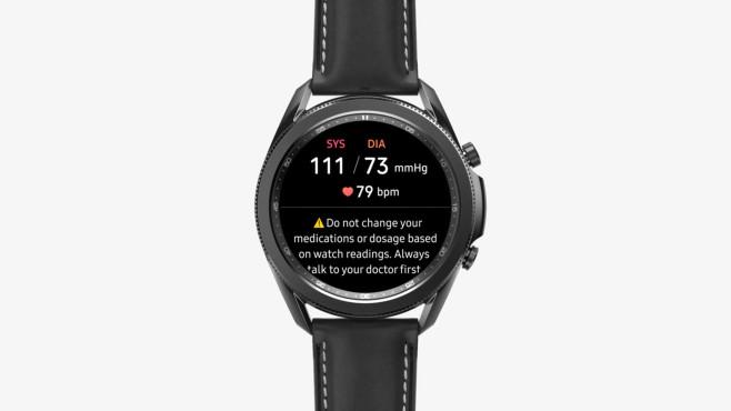 Galaxy Watch Blutdruck©Samsung