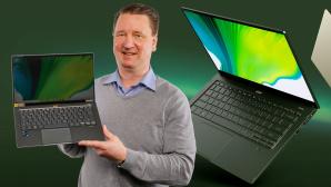 Acer Sift 5 (2021): Test©COMPUTER BILD, Acer