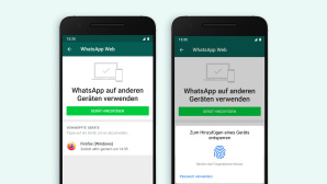 WhatsApp Web: Fingerabdruck © WhatsApp