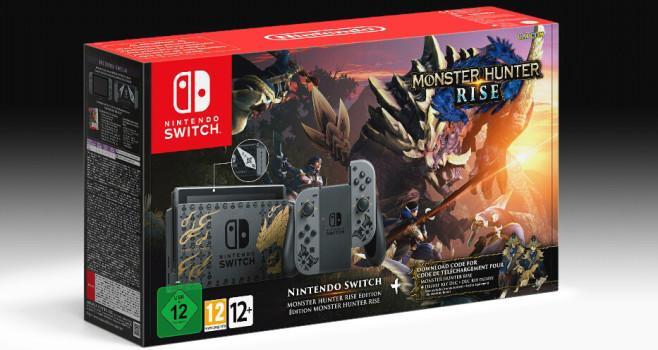 Switch: Monster Hunter©Nintendo