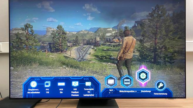 Die neue Game Bar zeigt übersichtlich alle wichtigen Daten, etwa die aktuelle Bildwiederholrate, VRR-Einstellung und mehr.©COMPUTER BILD