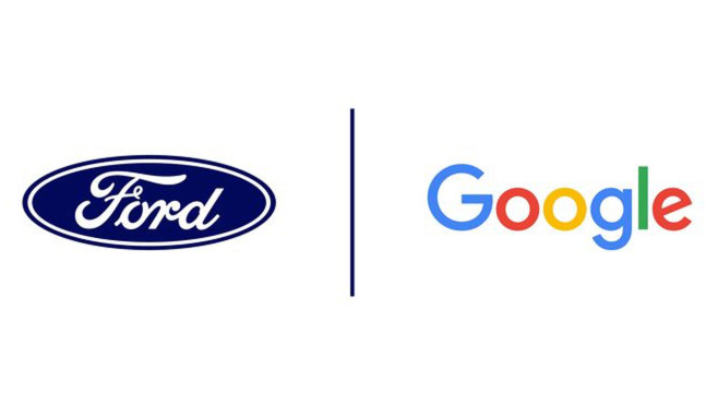 Ford und Google: Logos©Ford / Google
