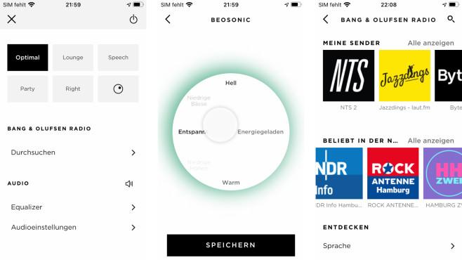 Die App von Bang & Olufsen hilft durch alle Grundeinstellungen und enthält auch die Anleitung.©COMPUTER BILD