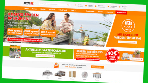 Bei Möbel Kraft gibt es aktuell attraktive Frühlings-Angebote©Screenshot Hersteller