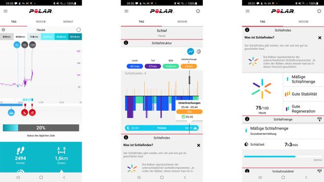 Polar Vantage V2 App Analyse©COMPUTER BILD