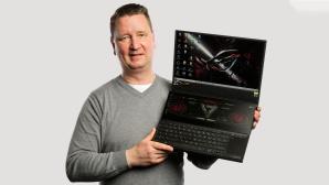 Asus ROG Zephyrus 15 Duo (2021) im Test: Der schnellste Laptop! Asus ROG Zephyrus Duo 15 (2021) im Test: tolles Konzept, extrem hohes Tempo.©COMPUTER BILD