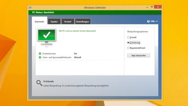 Microsoft Defender Antivirus: Tutorial zum schlanken Virenscanner©COMPUTER BILD