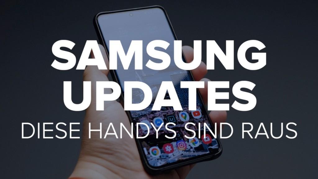 Samsung-Updates: Diese Handys sind raus - COMPUTER BILD - COMPUTER BILD