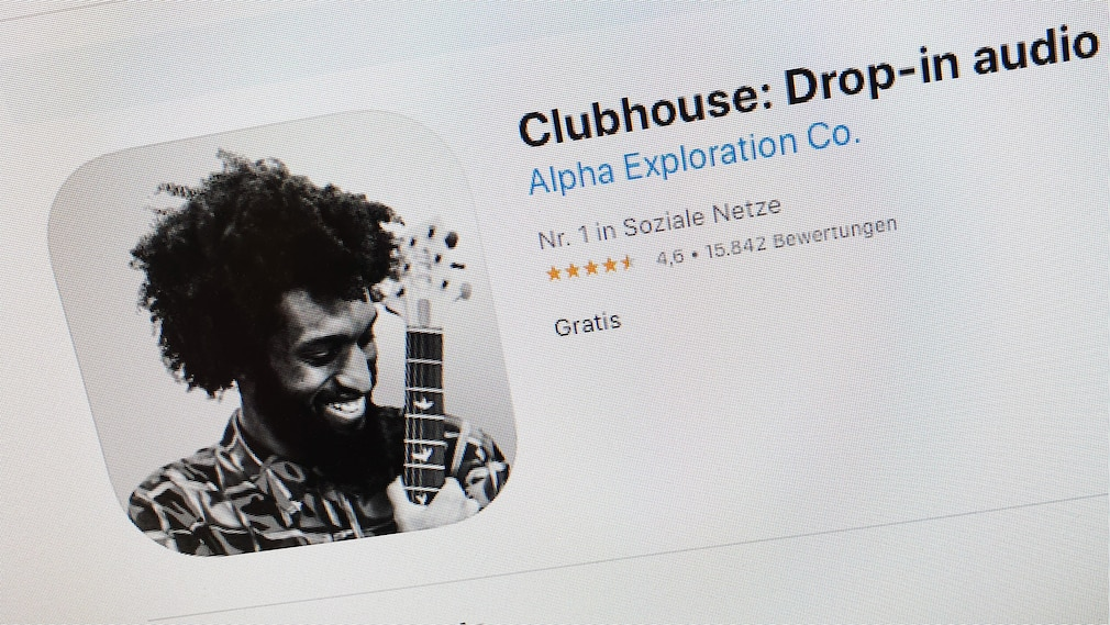 Clubhouse im App Store©Alpha Exploration Co. / Apple