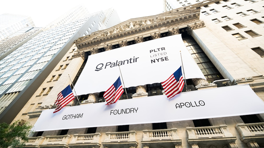 Palantir-Aktie IPO©Noam Galai / Getty Images