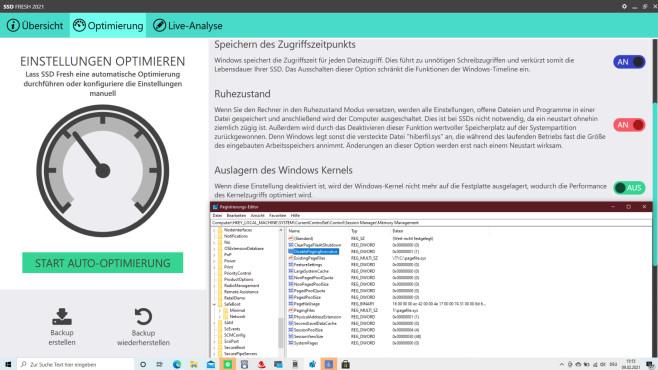 Windows für Profis: So tunen Sie Kernel, Registry, Treiber, Dienste, MFT & Co. Der System-Tweaker SSS Fresh versucht sich daran, den Kernel aufzumotzen.©COMPUTER BILD
