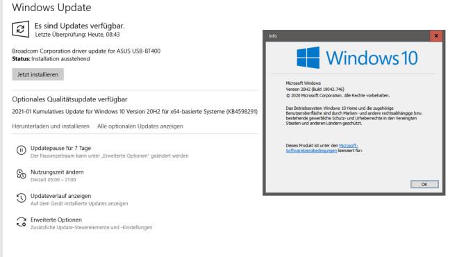 Windows für Profis: So tunen Sie Kernel, Registry, Treiber, Dienste, MFT & Co. Ein aktuelles Windows ein gutes Windows: Updaten Sie es daher.©COMPUTER BILD