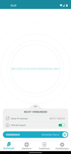 Surfshark VPN (Android-App)