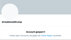 Twitter-Account von Donald Trump © Twitter
