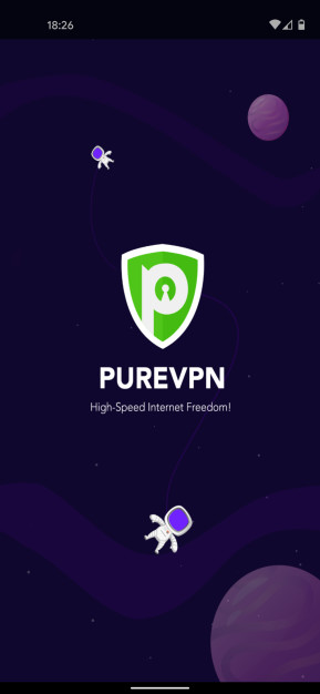 PureVPN (Android-App)