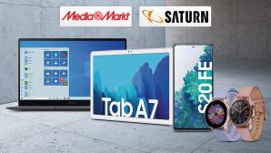 Reduzierte Samsung-Geräte©Media Markt, Saturn, iStock.com/Auris